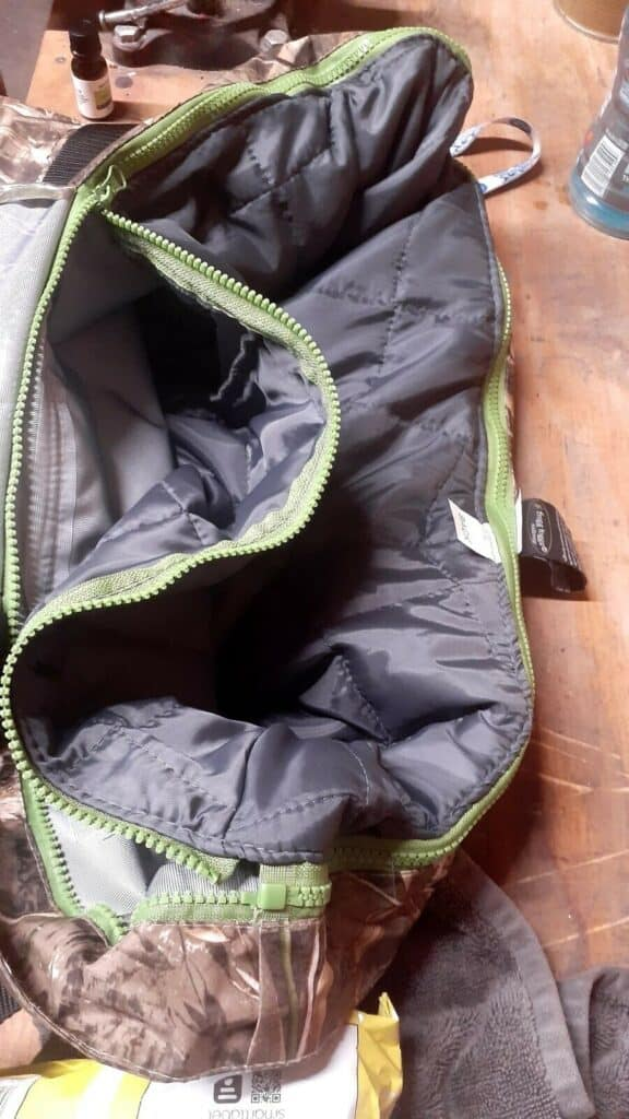 zip out insulation in big man waders