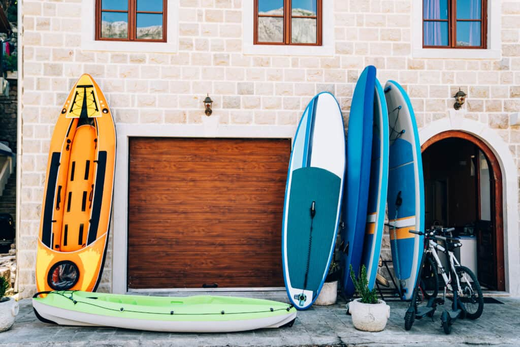 inflatable paddle boards for big guys