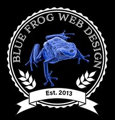 Graphic Design, Logo Design, Blue Frog Web Design