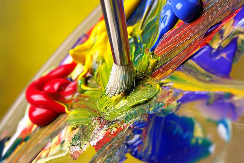 Tips for choosing your websites color scheme - Article by Blue Frog Web Design -