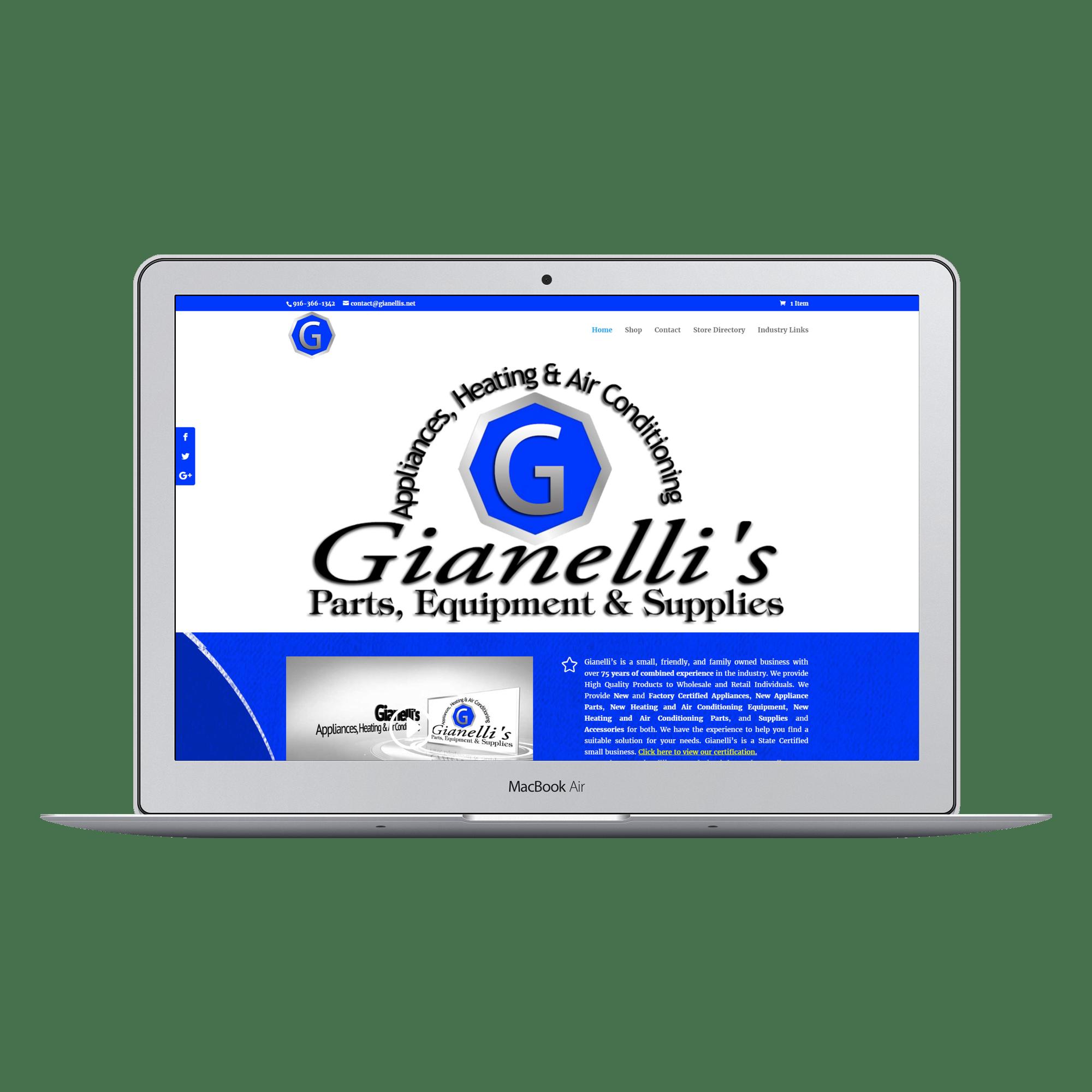 Gianellis Appliances and Supplies