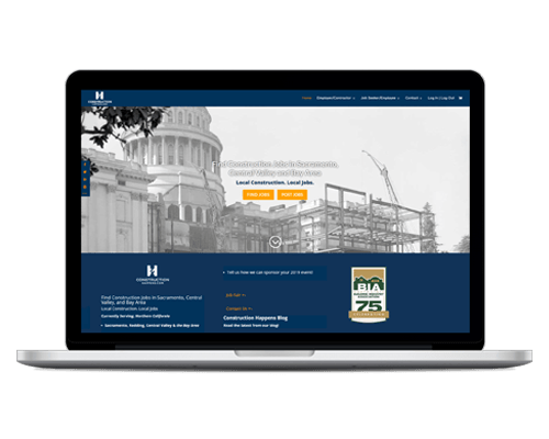 Job Board Website Design