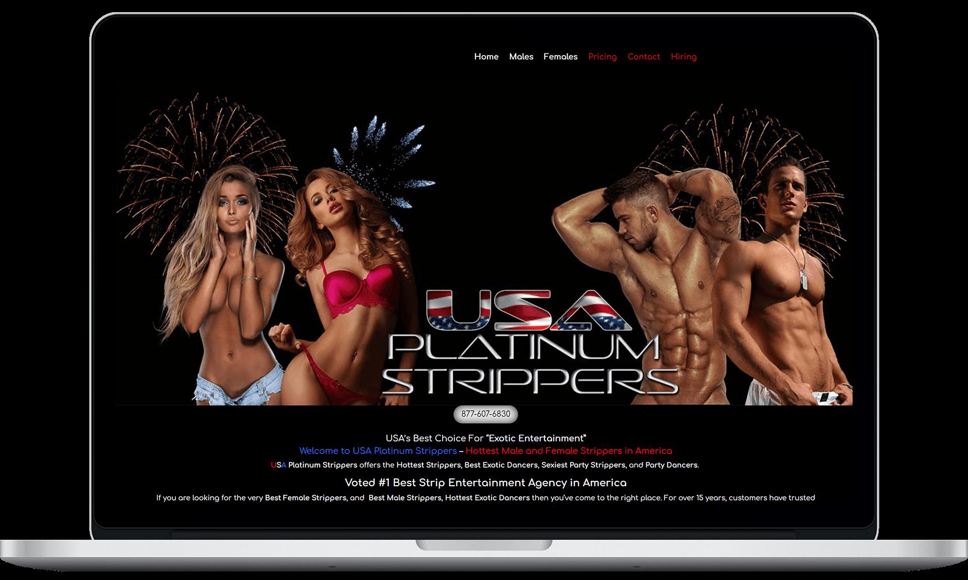 USA Platinum Strippers