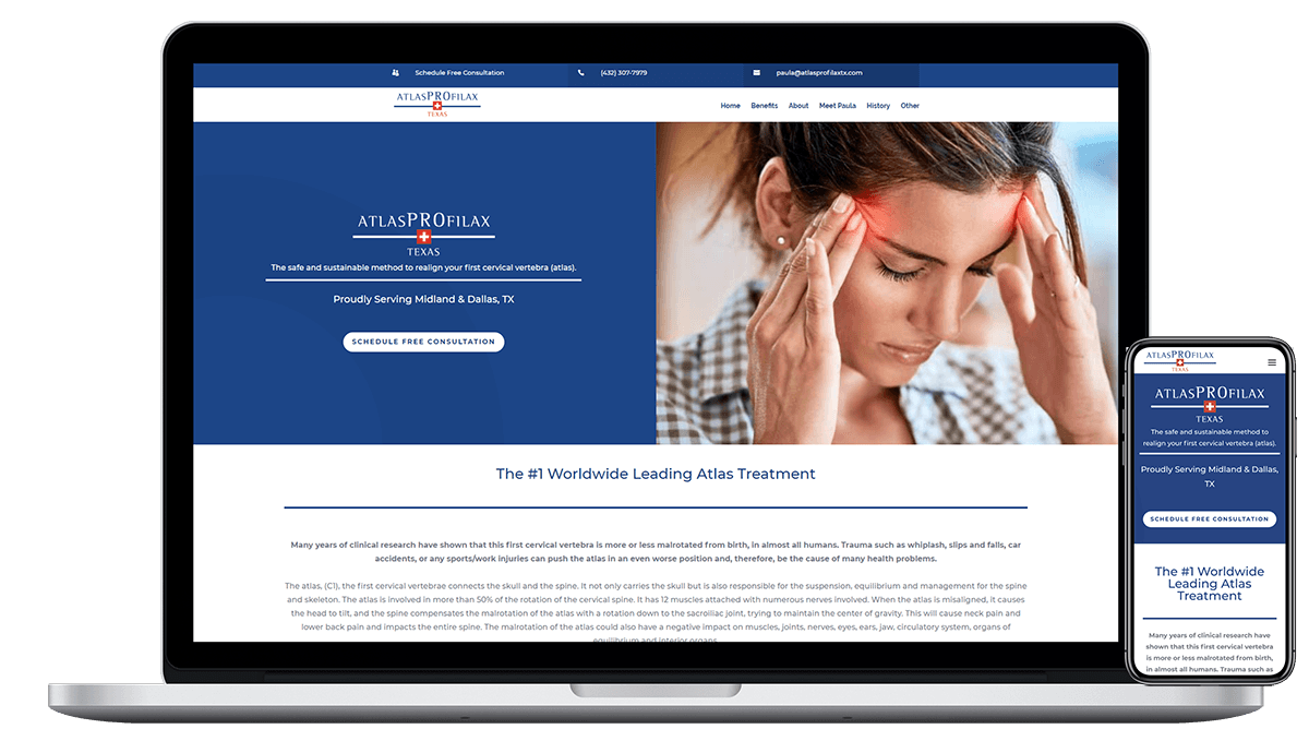 Blue Frog Web Design makes the best Wellness and Healing websites. Do you need a fresh website design or redesign? Contact us today!
