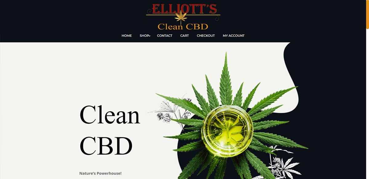 Elliott's Clean CBD