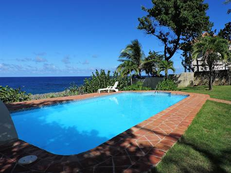 Beautiful Spanish Style Ocean Front Home in Sosua!