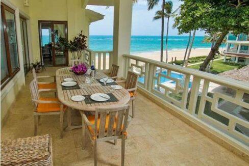 Ocean front condo, Dominican Listings