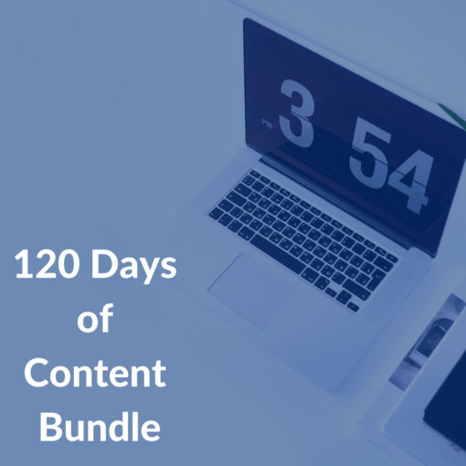 120 Days of Content