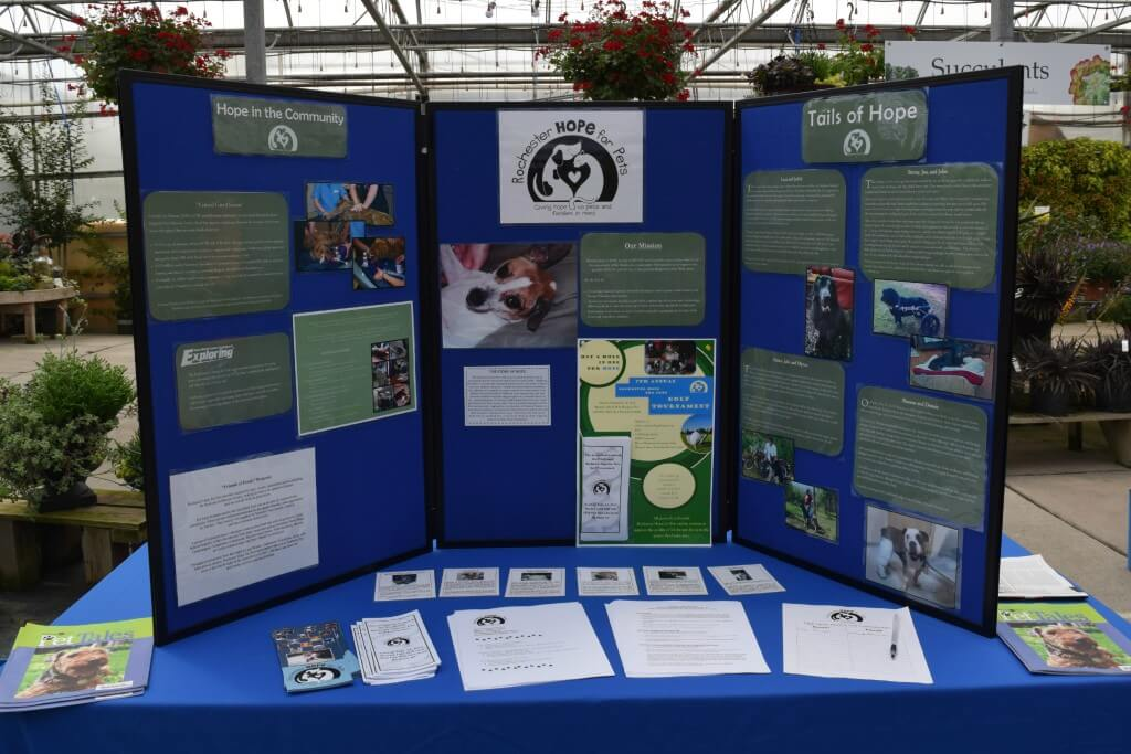 Rochester Hope for Pets booth