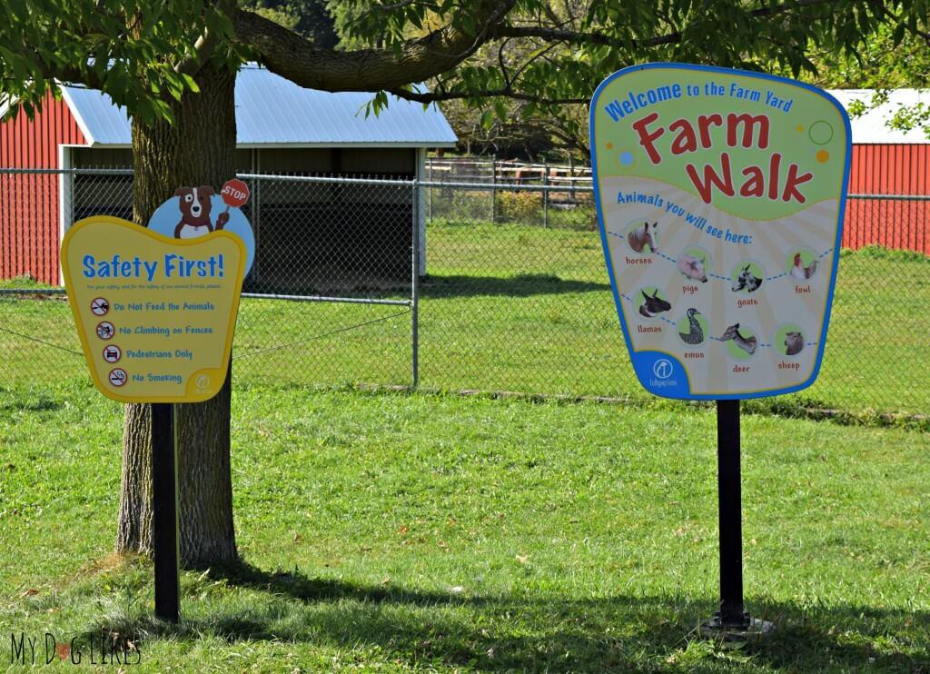 Lollypop Farm's Farm Walk Trail