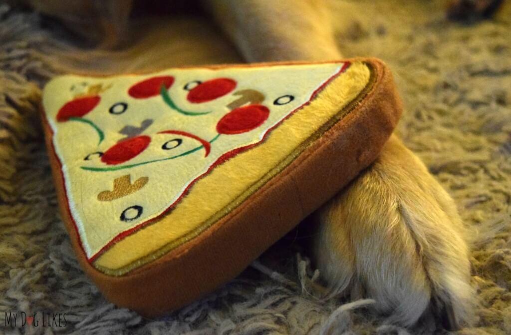 PrideBites Pizza Closeup - Note the detail in the design!