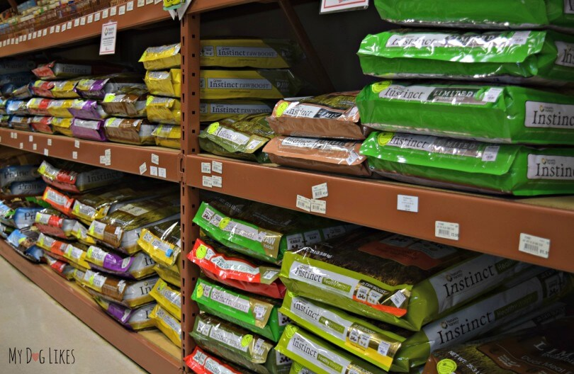 Natures Variety Instinct selection at Petsaver Superstore in Rochester, NY