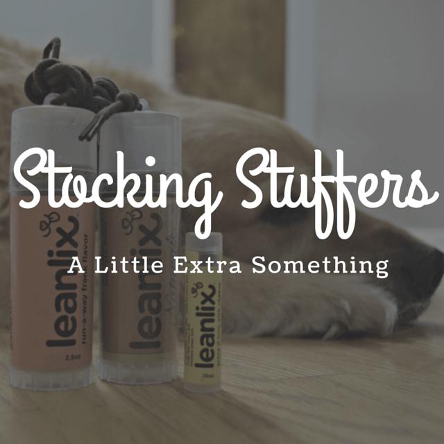 MyDogLikes 2015 Holiday Gift Guide - Stocking Stuffers - A little extra something