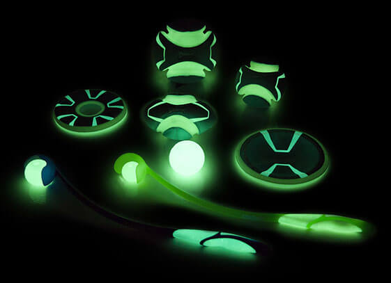 Chuckit! Toys Maxglow line of glow in the dark dog toys will bring some fun to those evening and nighttime walks!
