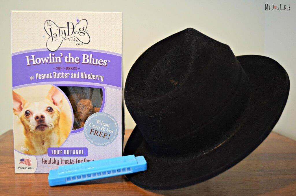 MyDogLikes reviews Howlin' the Blues soft baked treats from the Lazy Dog Cookie Company