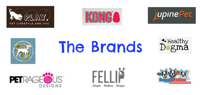 A selection of the high quality dog brands sold on DoggieDaysBoutique.com