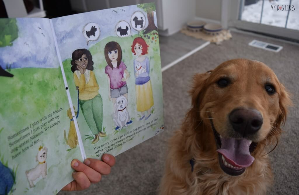 "MyDogLikes reviews the childrens book ""What Kind of Dog Am I?"" This adorable story has a great message about adoption and self identity."