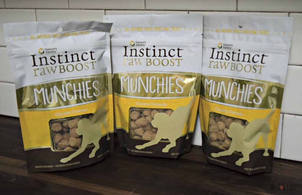 Natures Variety freeze dried raw dog treats