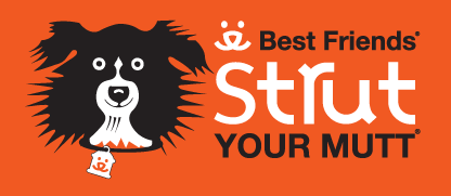 The logo for Best Friends Animal Society's Strut Your Mutt event