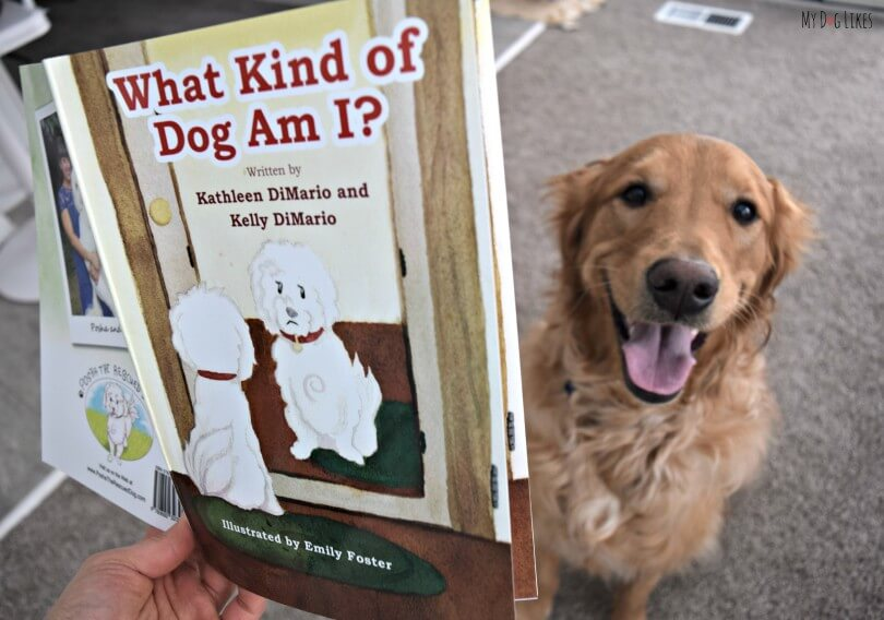 "MyDogLikes reviews ""What Kind of Dog am I?"" This is an adorable children's book about rescued dog Posha that has a great message."