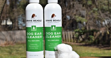 Brave Beagle dog ear cleaning solution review