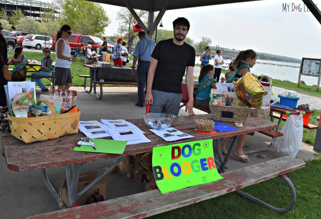 MyDogLikes was excited to participate and share information about careers in the pet industry.