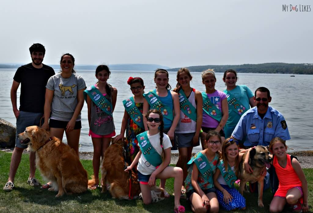 MyDogLikes was happy to participate in the Paws in the Park event planned by the inspiring girls of Troop 40133!
