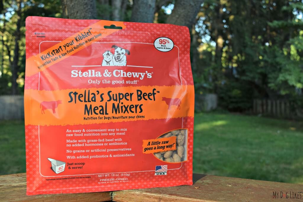 Our raw dog food journey continues as we review Meal Mixers from Stella and Chewys