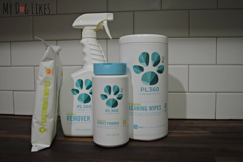 MyDogLikes reviews PL360's line of natural cleaning products
