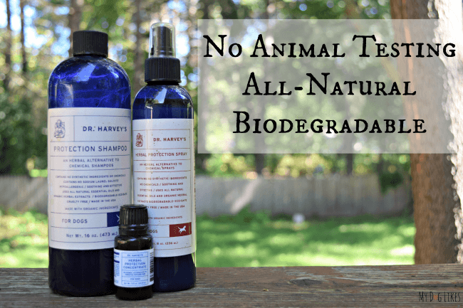 All Natural Bug Repellent Line from Dr. Harvey's