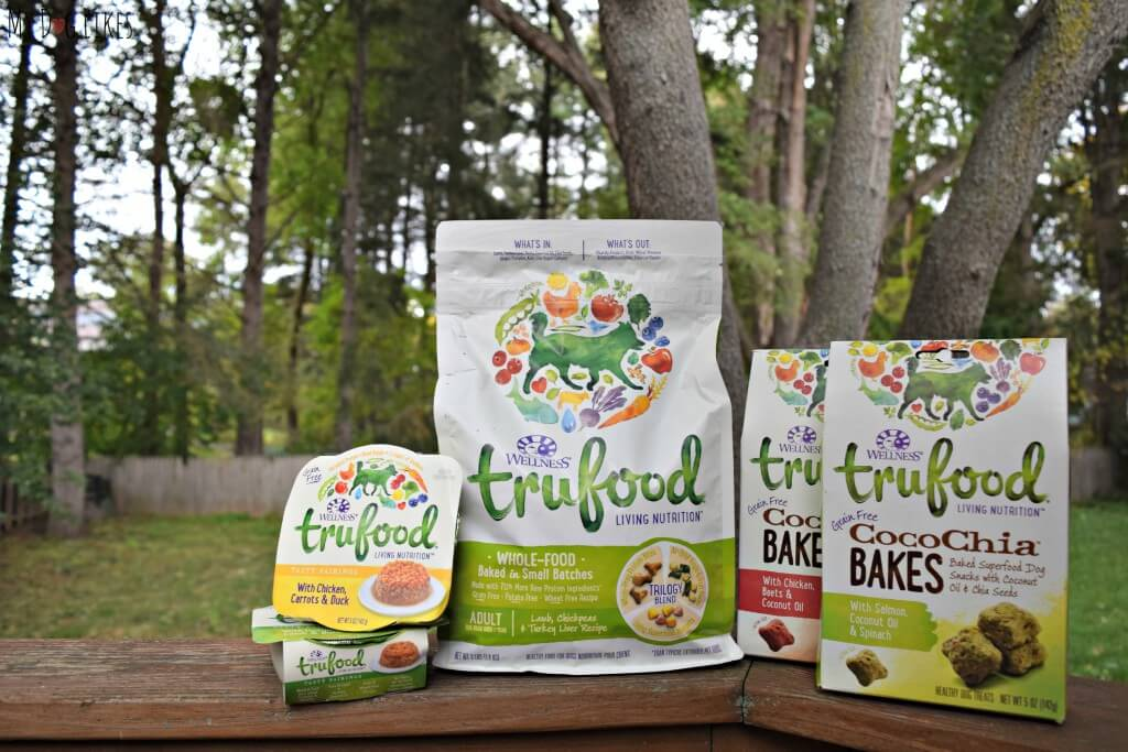 The Wellness TruFood line of wet food, dry food and treats.