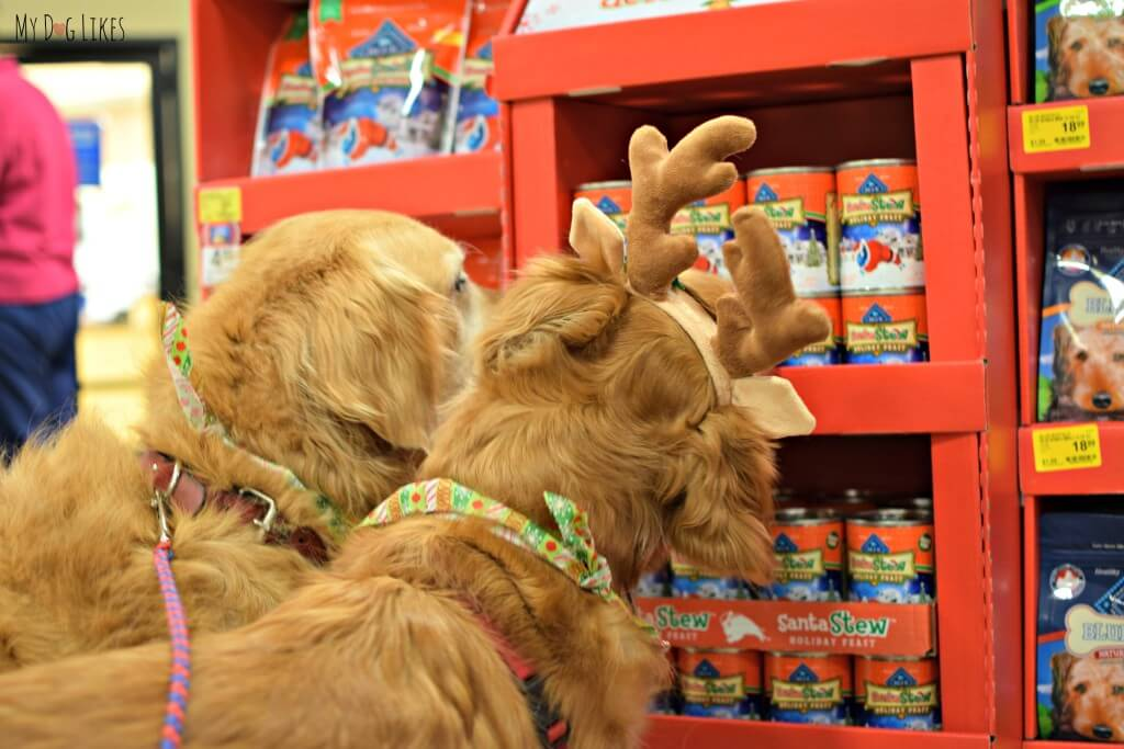 sniffing the deals