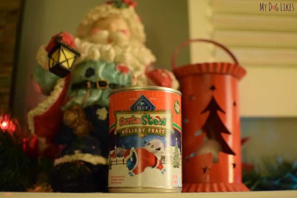 Blue Buffalo Santa Stew - a tasty holiday meal for your dog