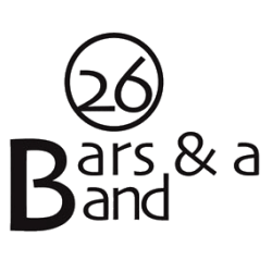 26 Bars and a Band Logo