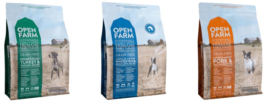Open Farm Dog Food Varieties