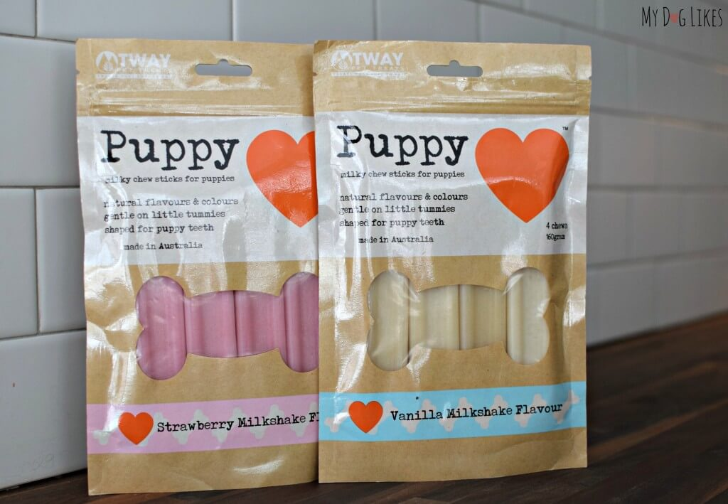 Puppy Love Milky Chew Sticks