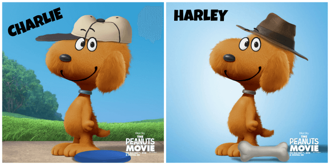 Harley and Charlie Peanutized