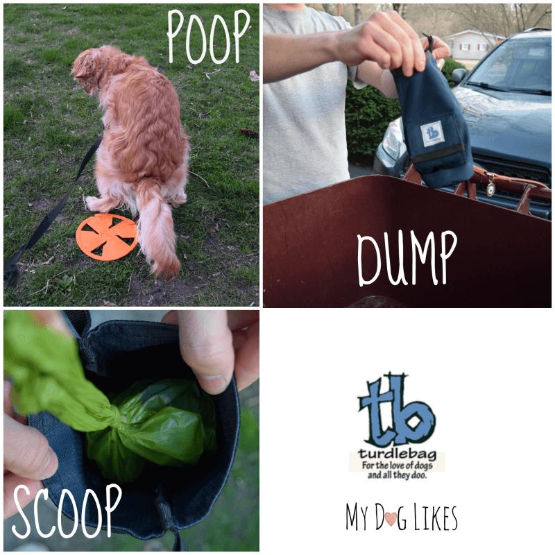 Poop Scoop Dump - Demonstrating how to use the Turdlebag