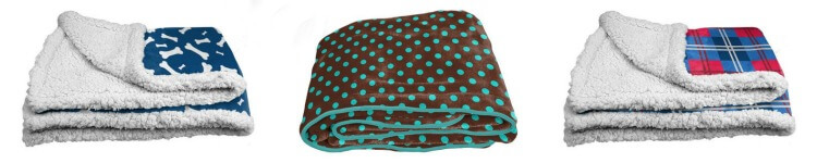 PrideBites Dog Blankets come in dozens of patterns, colors and styles!