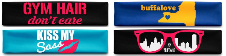 Browse Zevband's graphic print headbands if you are looking for a fun and stylish headband.