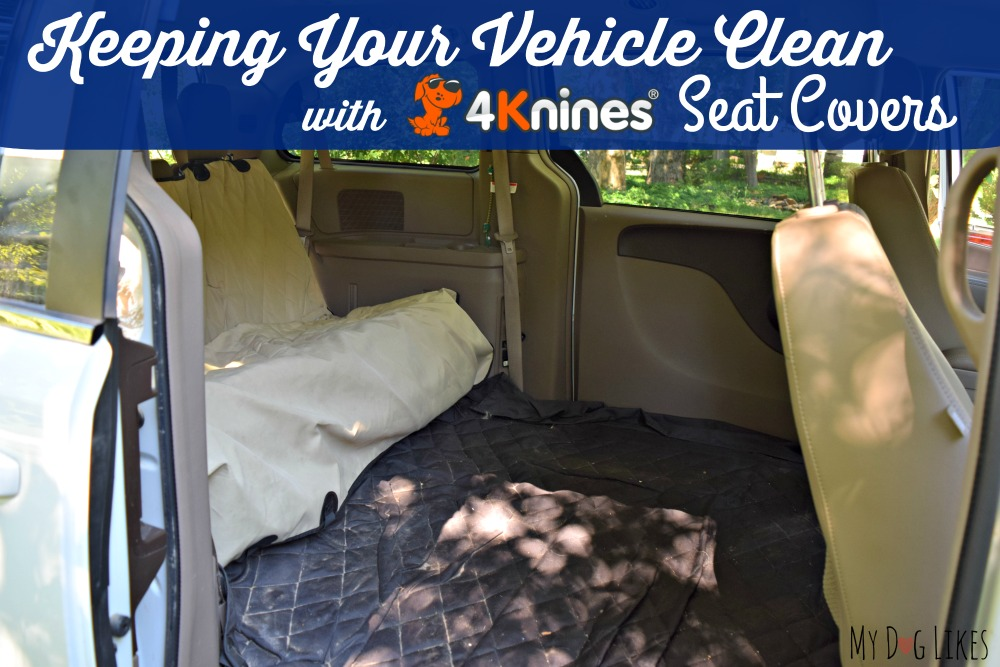 4Knines Dog Seat Covers are the first in our series of pet travel essentials.