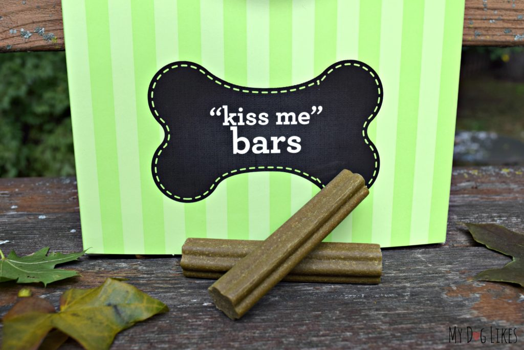 """Kiss Me"" bars from YPCK help to clean teeth and freshen breath"