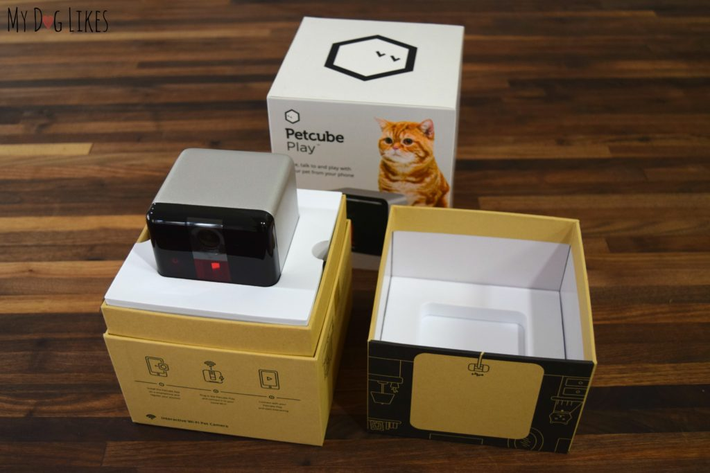 Unboxing the Petcube Play for the official MyDogLikes review