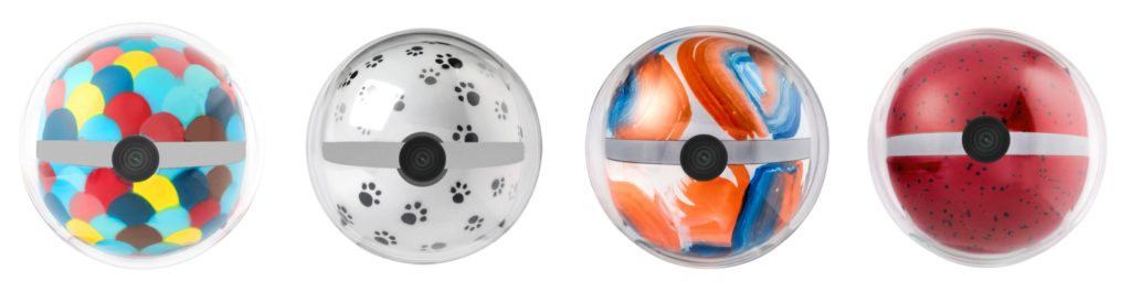 Personalize your Pebby with one of many colorful Easyfix magnetic caps