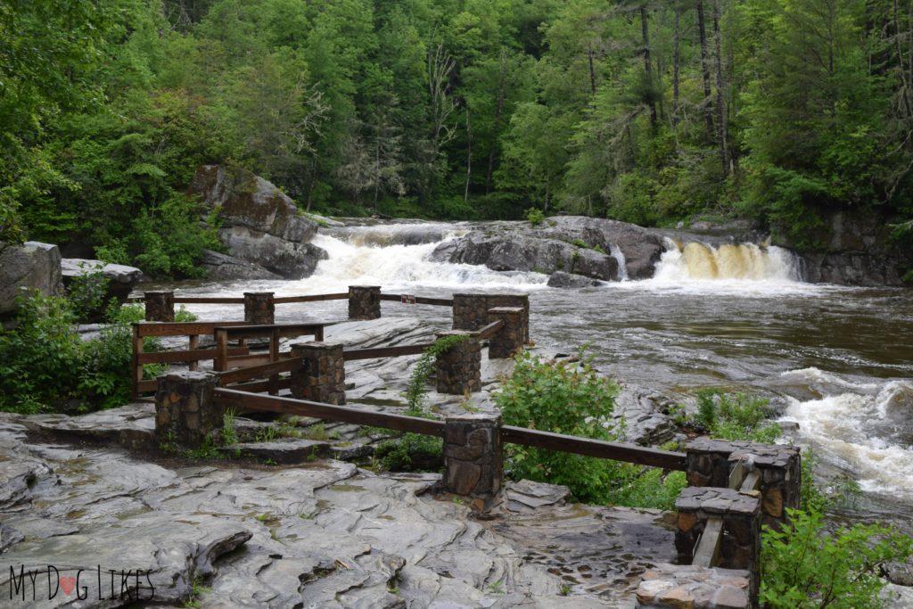 Upper Falls observation area