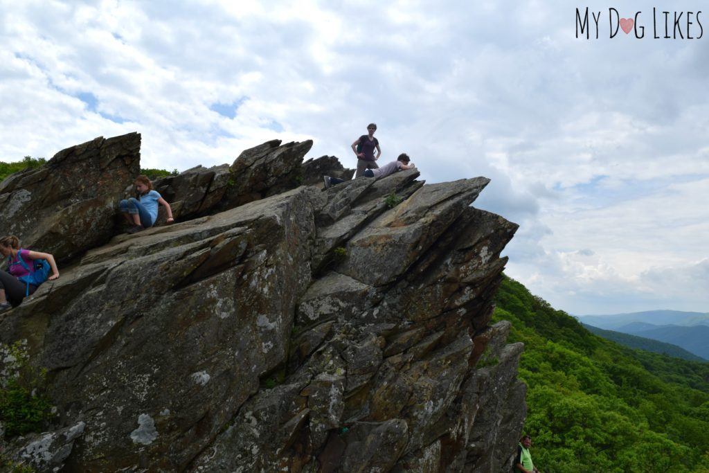 Exploring Humpback Rocks near Charlottesville, VA