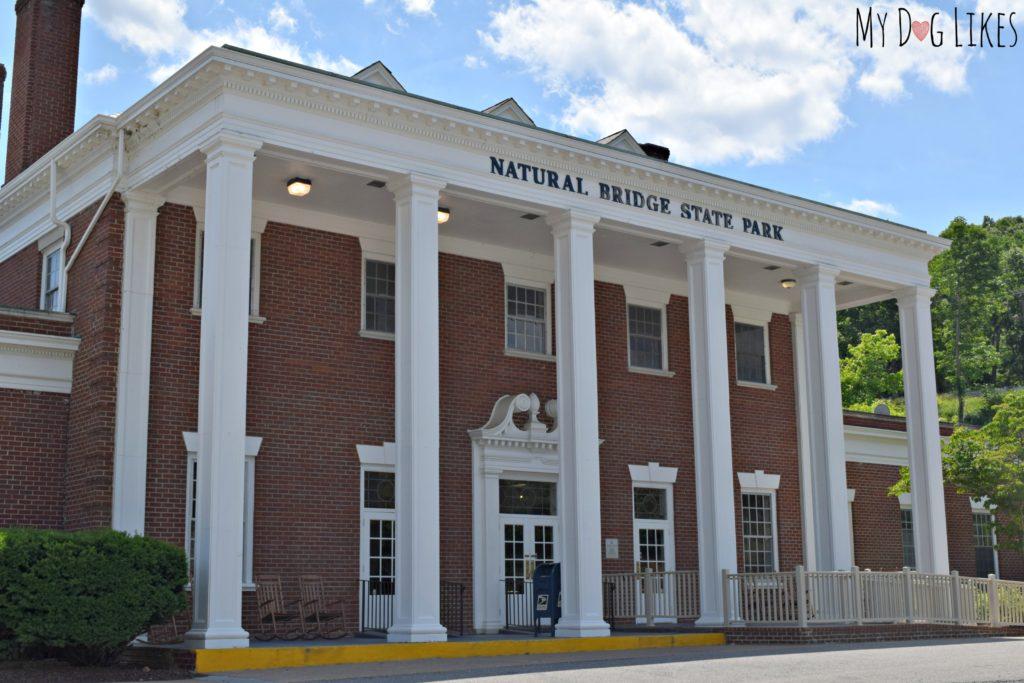 Natural Bridge State Park Visitors Center