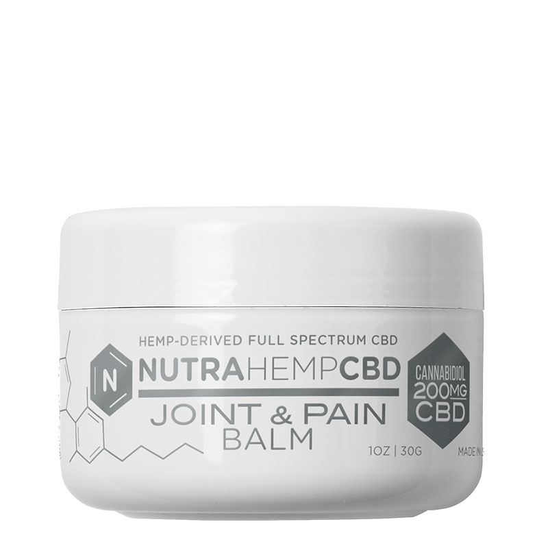 NutraHempCBD Full Spectrum Joint & Pain Balm