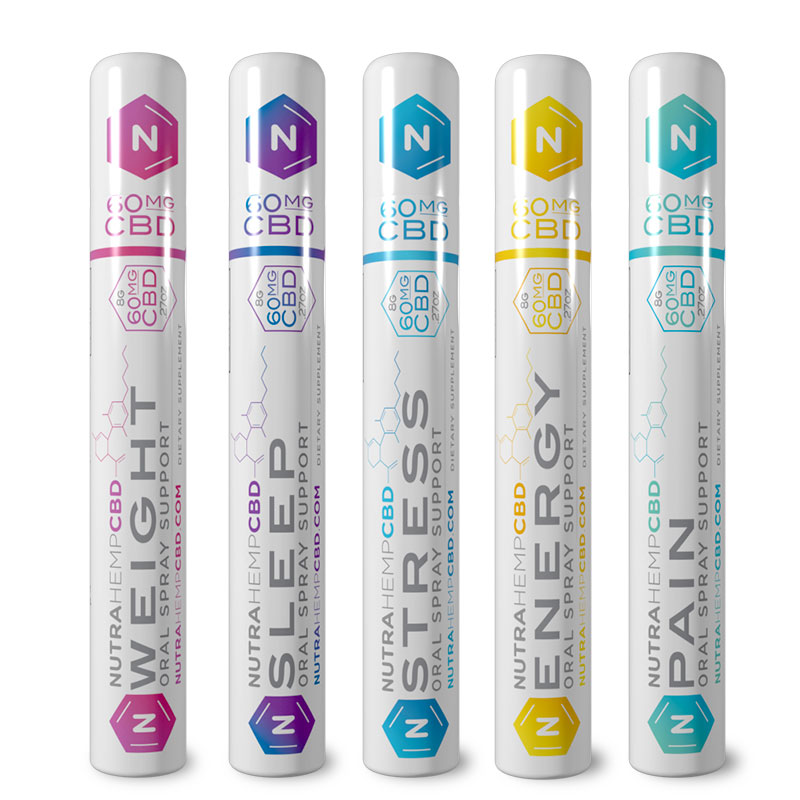 NutraHempCBD Oral Spray Starter Kit