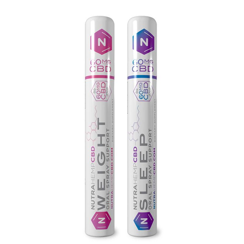 NutraHempCBD Weight and Sleep Oral Spray Support